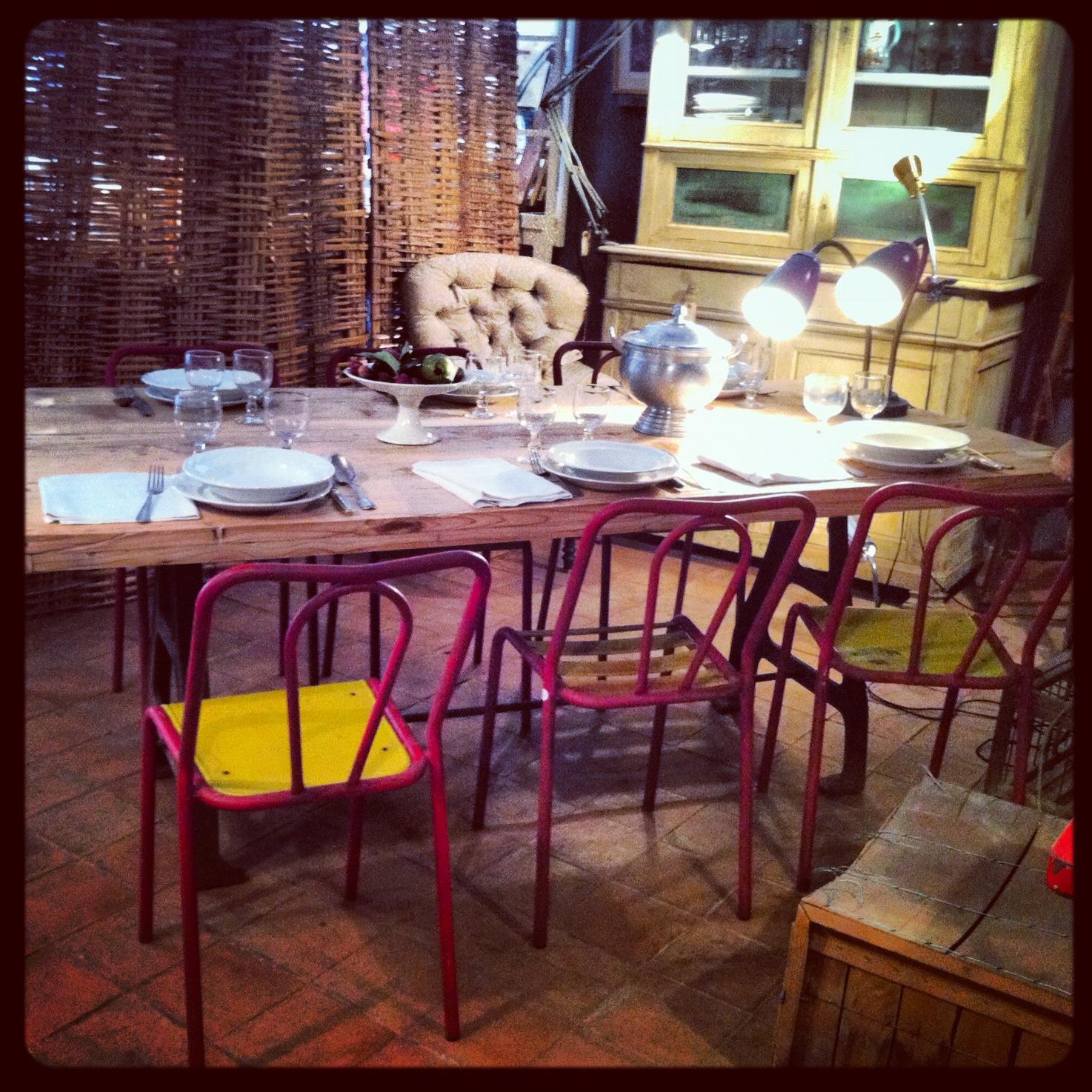 En busca de lo vintage industrial y decapado beautiful for La europea muebles