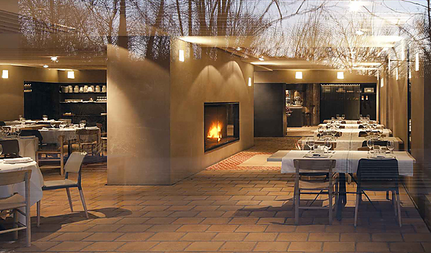 Restaurantes beautiful life magazine - Salones rusticos con chimenea ...