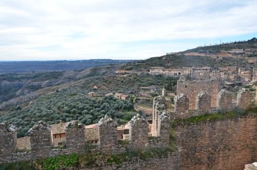 Almenas castillo Alquezar