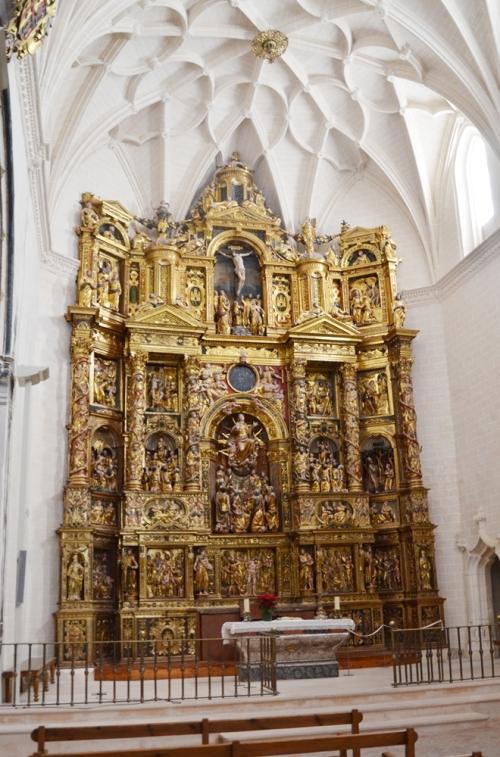 Altar Colegiata de Santa Maria Alquezar