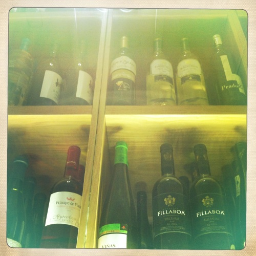 Vinos Restaurante En Copa de Balon