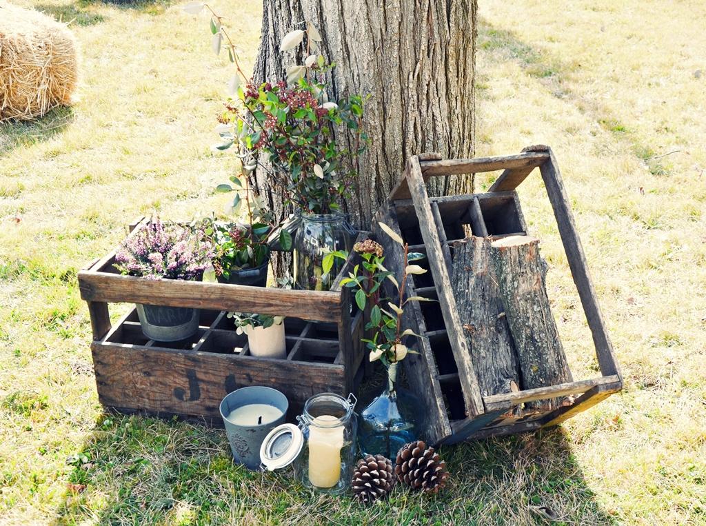 Un jard n lleno de fiesta beautiful life magazine - Cosas antiguas para decorar ...