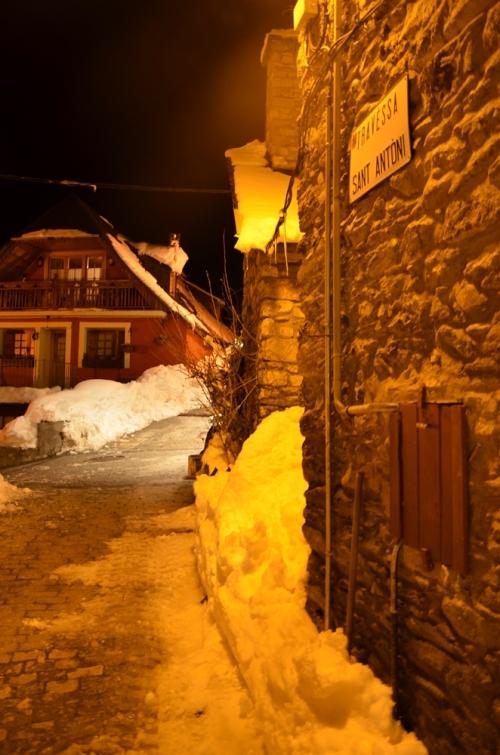 Calle de Bagergue en Valle de Aran