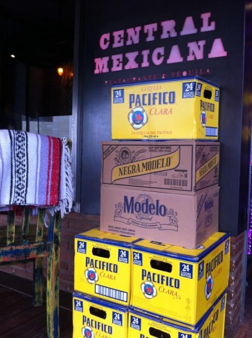 Central Mexicana cervezas