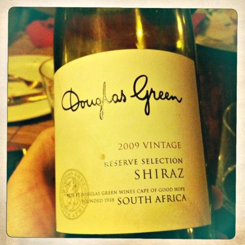 Restaurante El pollo Loco  Arties vino de Sudafrica
