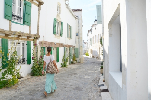Paseando por las calles de Saint-Martin-de-Ré