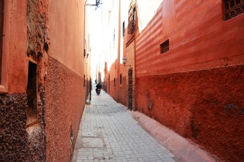 Callejon Marrakech La Ciudad Roja