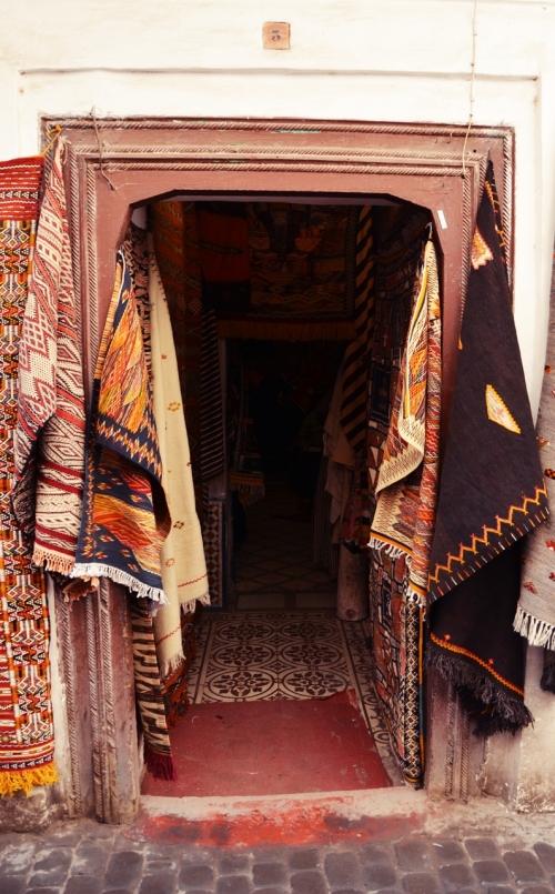 Zoco Marrakech tienda de alfombras