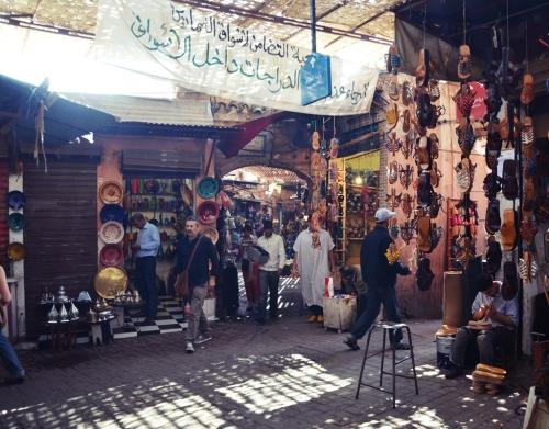 Zoco Marrakech tiendas de zapatos