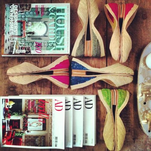 bailarinas y revistas  El Mercado de la Vida
