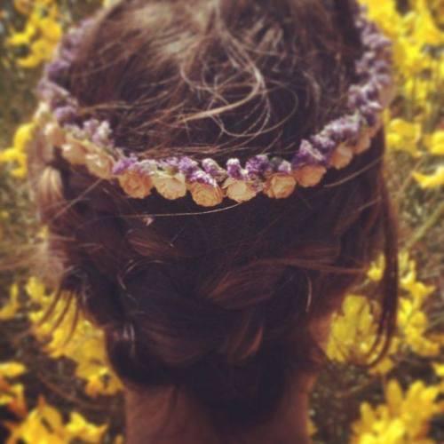 Corona Hip&Love flores pequeñitas