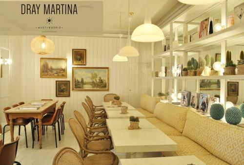 Restaurante Dray Martina salón interior