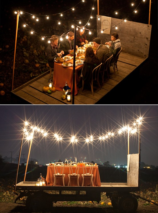 Guirnaldas de bombillas luces que hacen so ar beautiful - Luces exteriores jardin ...