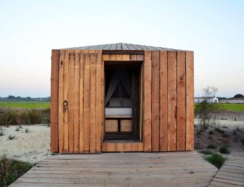 Cabanas no Rio Comporta dormitorio