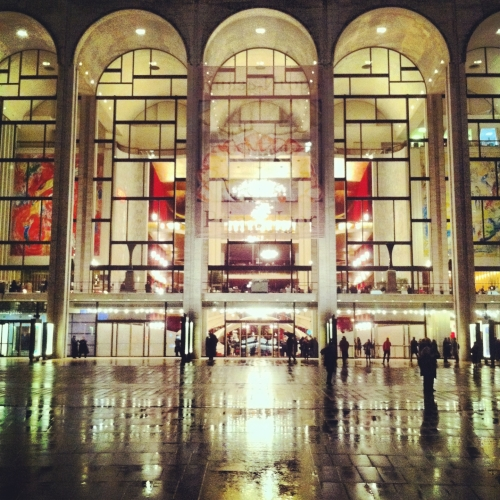 Nueva York Lincon Center Opera Hall