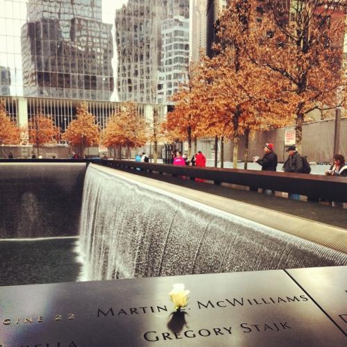 Nueva York memorial 11S