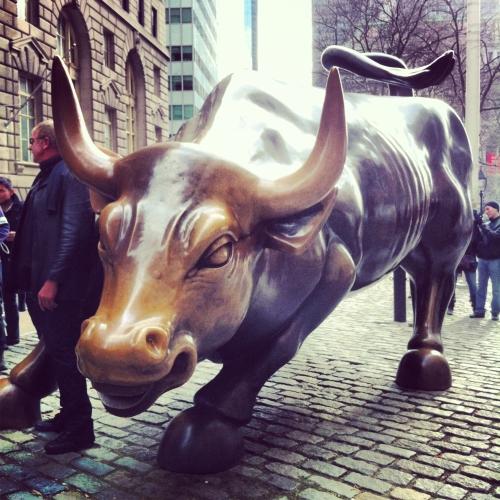 Nueva York toro Wallstreet