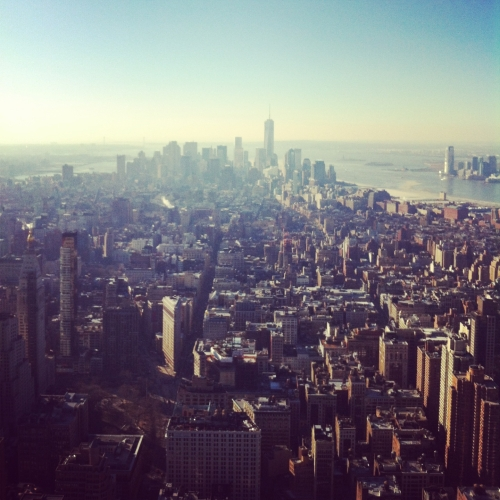 Nueva York vistas desde Empire State