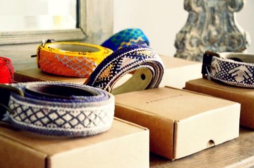 Cinturones Ethnos El Mercado de la Vida cajas 2