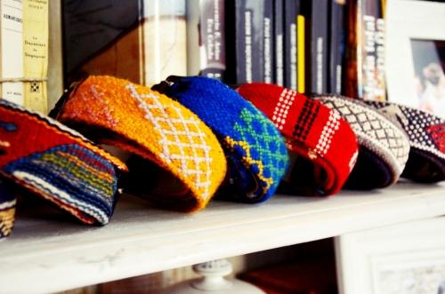 Cinturones Ethnos El Mercado de la Vida colección otoño-invierno