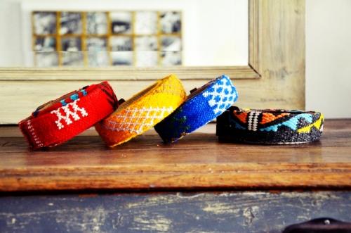 Cinturones Ethnos El Mercado de la Vida colores