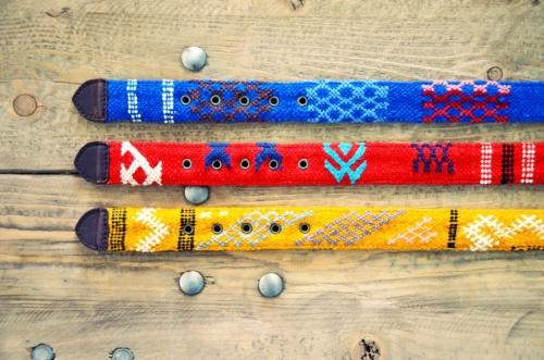 Cinturones Ethnos El Mercado de la vida punta tejido