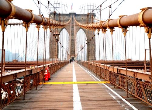Puente de Brooklyn Nueva York 1600
