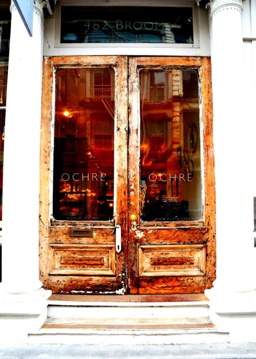 Puerta tienda del Soho de Nueva York 1600