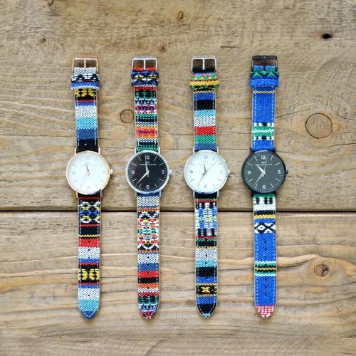 Nuevos relojes EMV S14 navajo El Mercado de la Vida 4 correas - mediana
