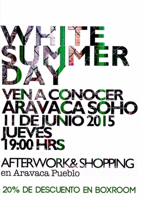 White Sumer Day Soho Aravaca Boxroom El Mercado de la Vida