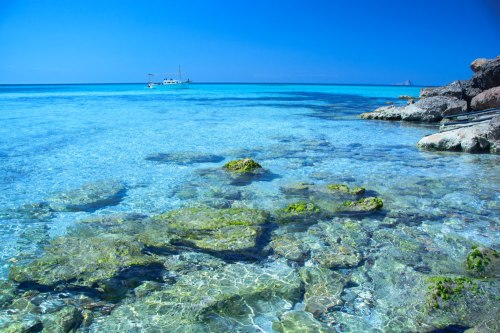 agua_cristalina Sa Barca Formentera