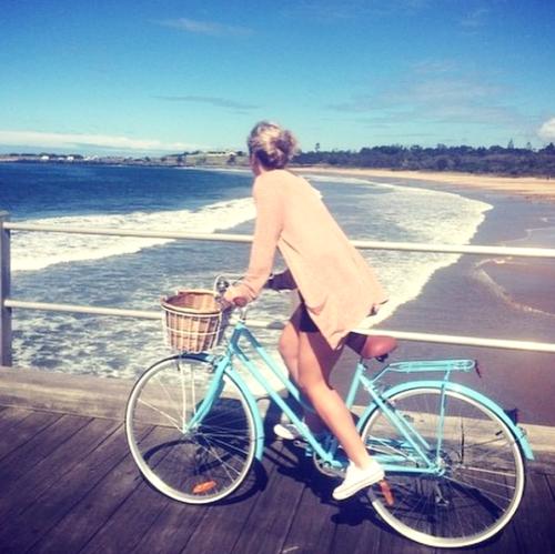 Reid Cycles bicis mujer playa
